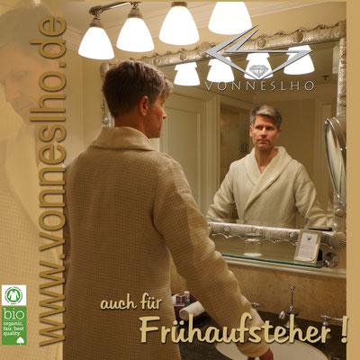 www.meinbademantel.de - auch für Frühaufsteher!