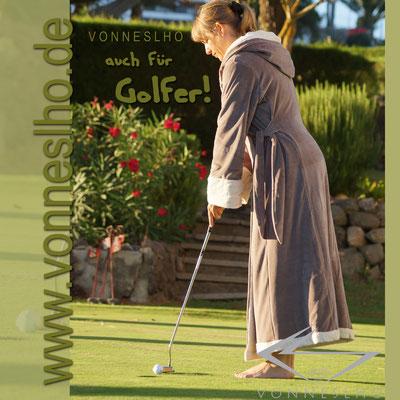 www.meinbademantel.de - auch für Golfer!