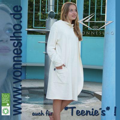 www.meinbademantel.de - auch für Teenies!