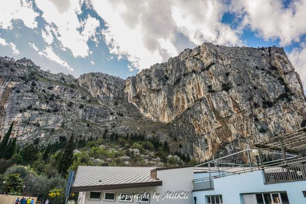 Klettersteig Colodri : Sentiero del colodri klettersteig b c 400m gardasee berge