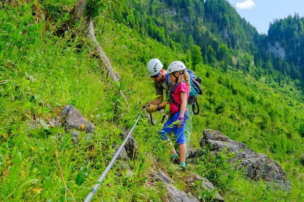 Klettersteig Gosau : Klettersteig gosau max und moritz: moritz klettersteig.