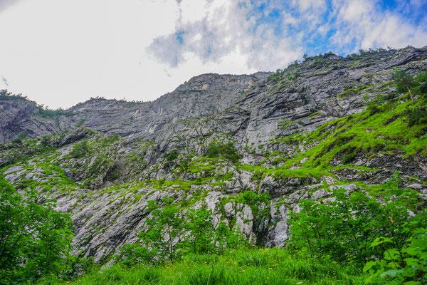 Klettersteig Seewand : Seewand klettersteig d e außer schönbichl 1785m lustaufbergs
