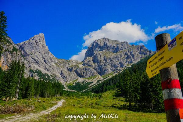 Klettersteig Ybbstaler Alpen : Kaiserschild klettersteig d e m ennstaler
