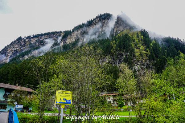 Klettersteig Ybbstaler Alpen : Nasenwand klettersteig e nase m zillertaler alpen