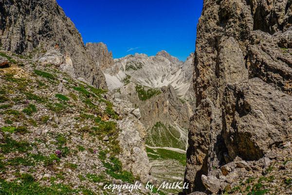 Klettersteig Rotwand : Eggentaler rotwand umrundung mittel hm h mittlere