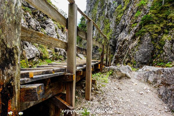 Xeis Klettersteig : Rosina klettersteig d kampspitze m dachsteingebirge