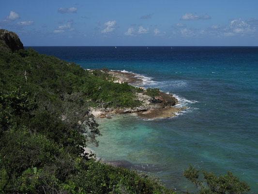 Bucht in Höhe der Hotelanlagen