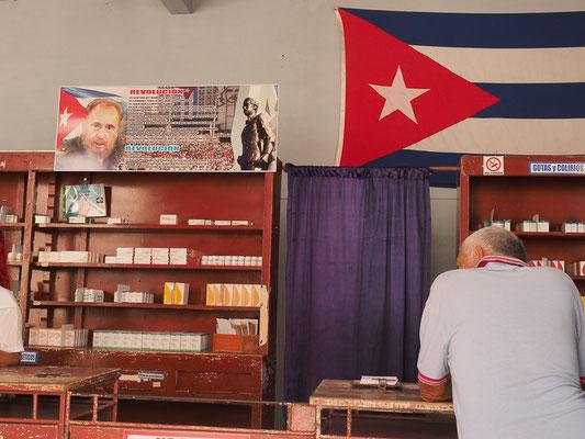 Ohne Fidel und Fahne geht´s auch in der Apotheke nicht!