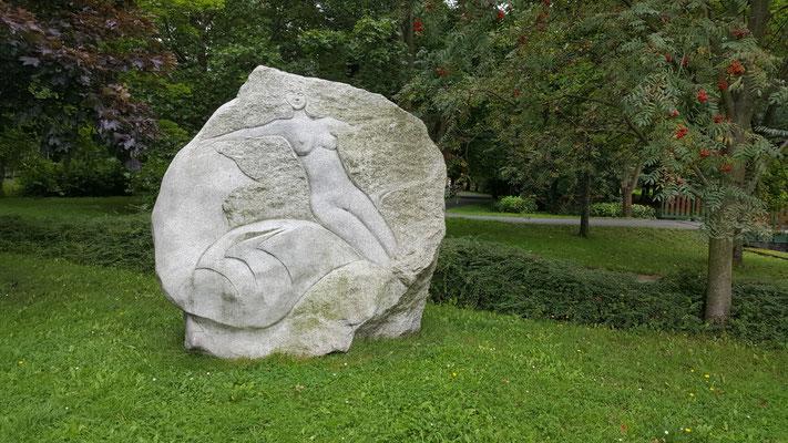 Sehenwürdigkeiten von Sokolov: Bildende Künste im Schlosspark ...