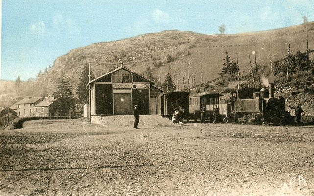 Tarn-113 : Murat-sur-Vèbre. Locomotive 130T