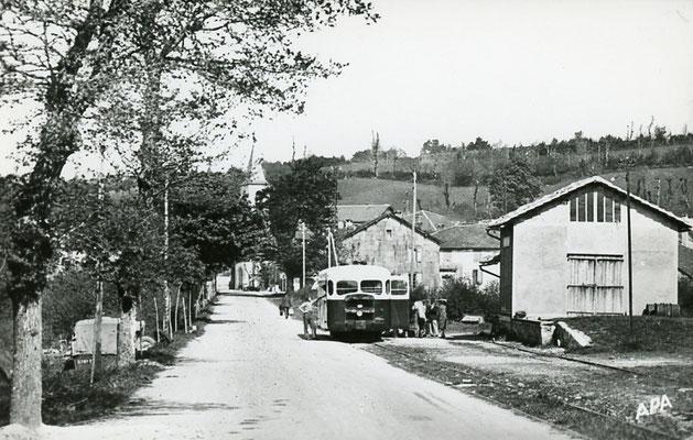 Tarn-110 : Moulin-Mage. Autorail Verney SCF