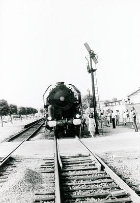Paray-le-Monial-004. Locomotive 141 R 1187. Date et auteur du cliché inconnus