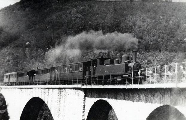 Tarn-063 : Le Bouissas. Date et auteur du cliché inconnus. Locomotive 130T