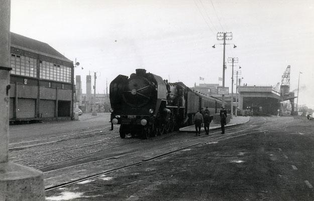 Boulogne-Maritime-020 : Locomotive 231 C 71. Cliché Jacques bazin. 4 juin 1957