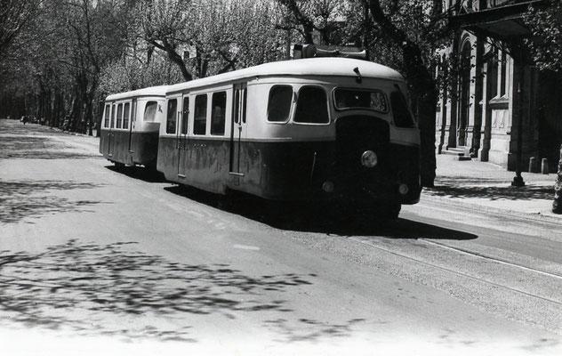 Tarn-046 : Castres-Albinque. 2 mai 1958. Autorail Billard A80D. Cliché Jacques Bazin
