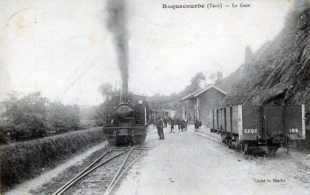 Tarn-050 : Roquecourbe. Locomotive 130T n°12