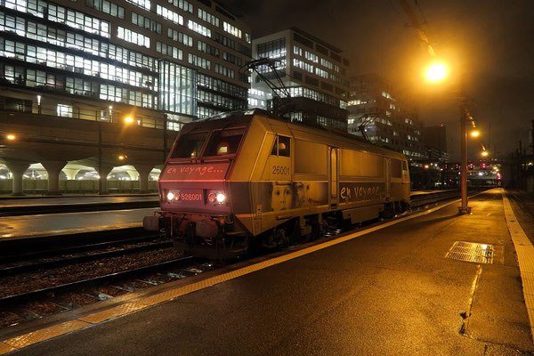 Paris-Austerlitz-14 mars 2019. Locomotive BB 26001. Cliché Pierre Bazin