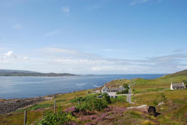 The Perfume Studio Café, Aultbea, Loch Ewe, Wester Ross, Highlands, Schottland