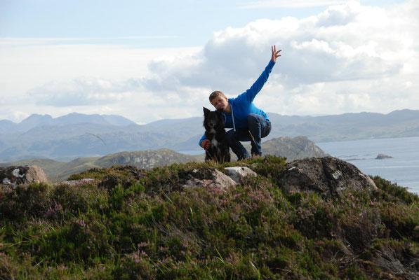 Loch Ewe, Wester Ross, Highlands, Schottland