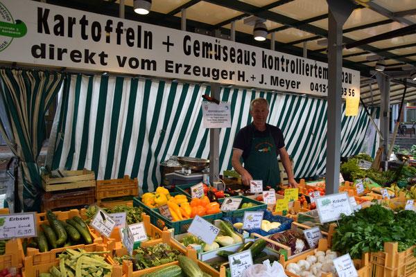 Auf dem Rotenburger Wochenmarkt