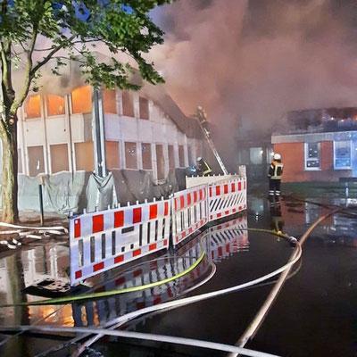 Feuerwehreinsatz Sonntag früh in Zeven