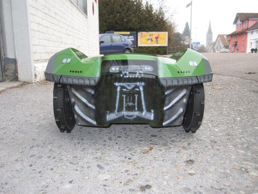"Der fertige ""Traktor"""