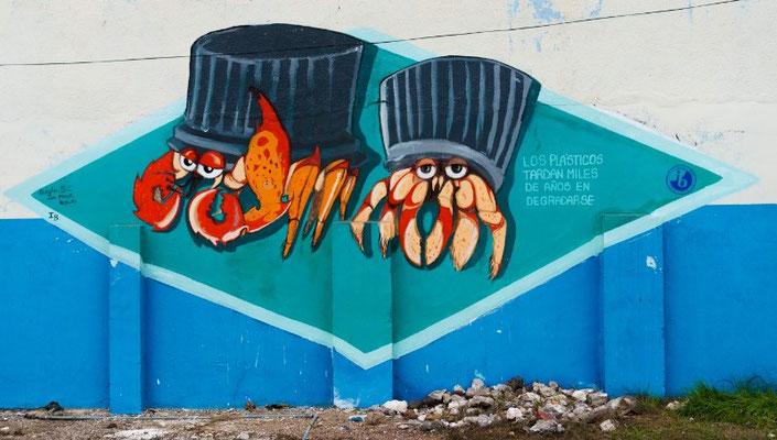 San Cristóbal, Galapagos street-art
