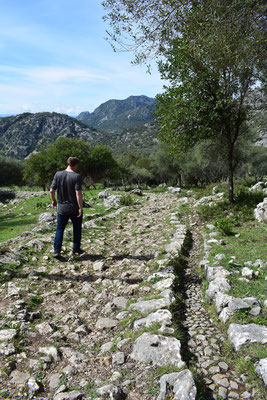 Roman road from Benaocaz to Ubrique