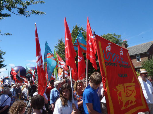 Tolpuddle Martyrs Festival, Dorset, England