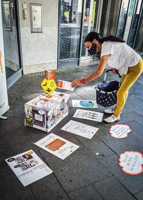 Ingelheim, Öffentlichkeitsaktion zum Weltalphatag