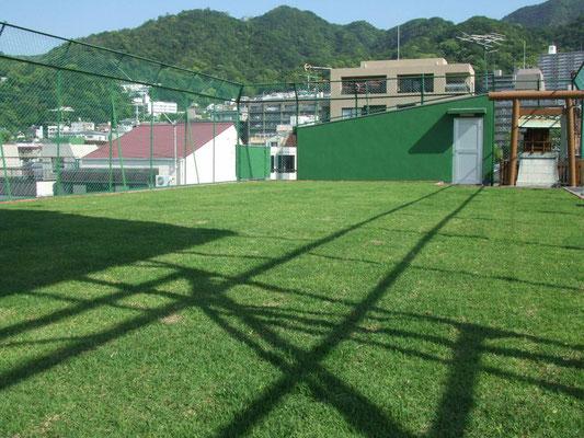 企業の屋上緑化