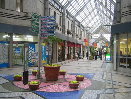 商業施設のレンタルグリーン