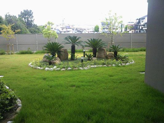 特別養護老人ホームの緑地