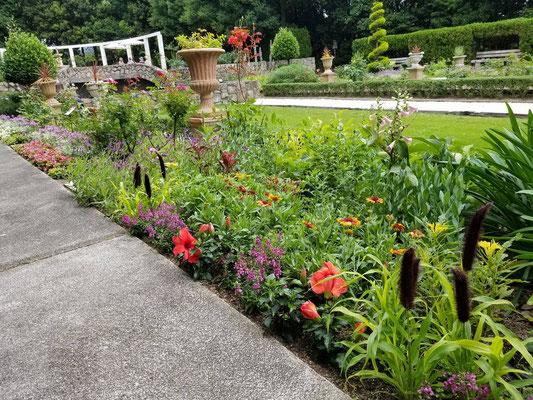 須磨離宮公園花の庭園