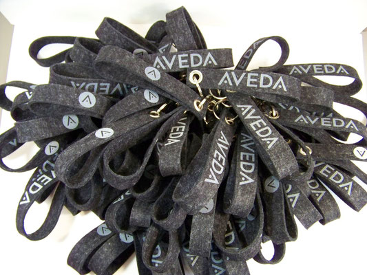Schlüsselbänder für Aveda