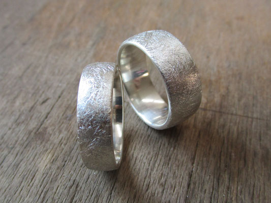 Eheringe, Ringe für 2, Partnerringe, Freundschaftsringe von Michaela Eiternick - Goldschmiedin aus Schorndorf