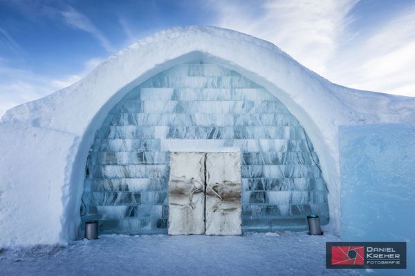 Zu Besuch beim Icehotel