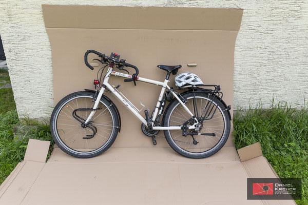 Fahrrad als Sperrgepäck