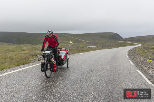 Anstieg zum Nordkap