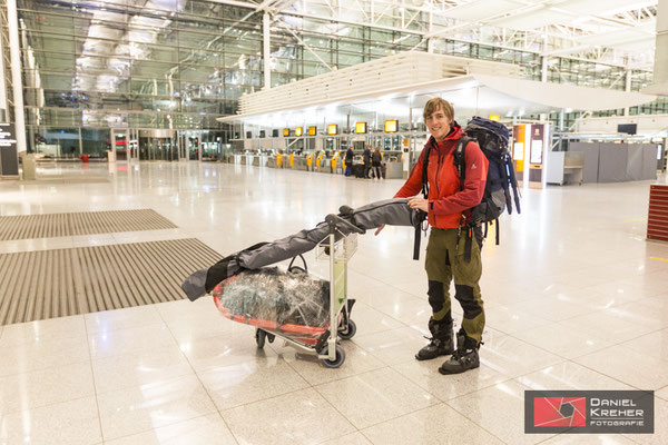 Am Flughafen MUC