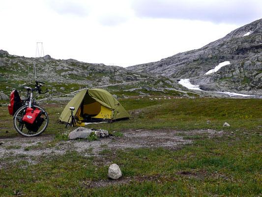 Zelten am Rallarvegen