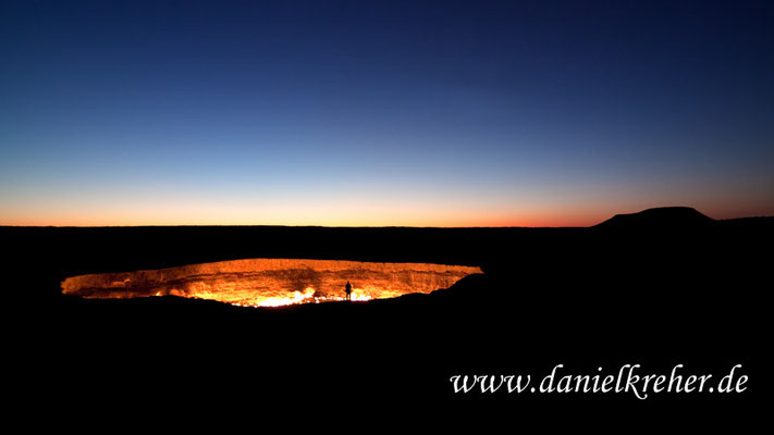 Darvaza gas crater / door to hell / Tor zur Hölle