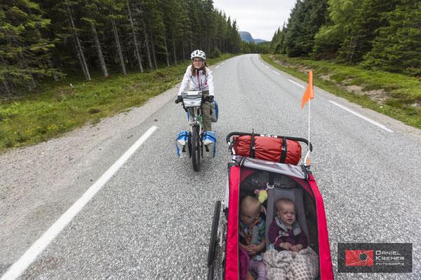 Mit den Kinder unterwegs