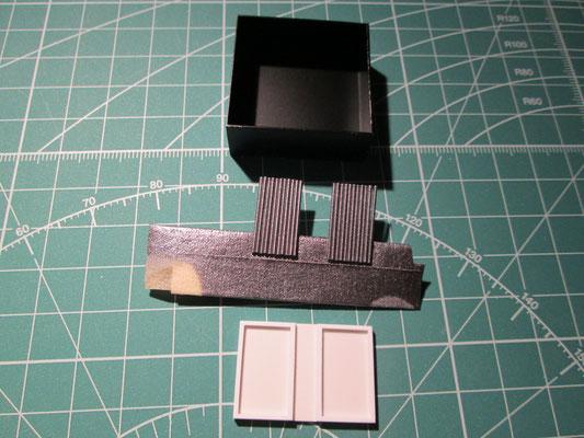 Erste Teile des Radiators