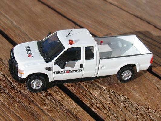 Das gleiche Modell als Servicefahrzeug von Terex Mining