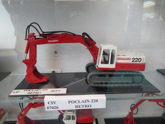 Poclain 200 von Wespe models aus Rumänien 1:87