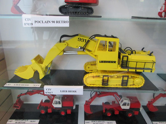 Liebherr 991, ebenfalls von Wespe models 1:87