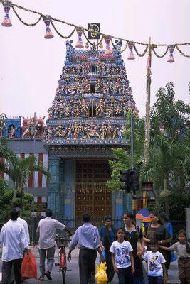 ヒンドゥー教寺院(リトル・インディア)