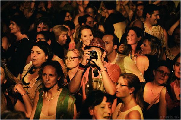 Ein Kollege im Münchner Publikum