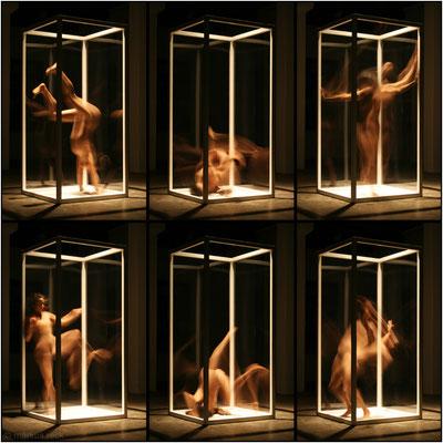 """Doro Eitel: """"1 1/2 KUBIKMETER PRIVAT!?"""" - Ausstellung """"akträume - fotografien von markus reck"""" Freiburg"""